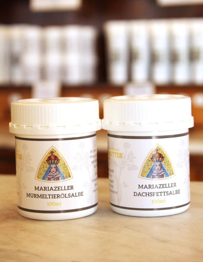Mariazeller_Dachsfett-Murmeltieroelsalbe